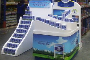 Pure Canterbury formula is marketed with images of the Souther Alps. Photo / Supplied