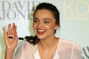 Miranda Kerr has been named the Most Beautiful Person of 2012. Photo / AP