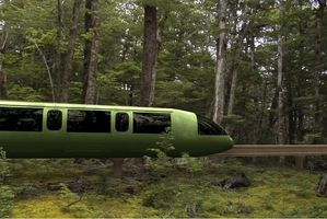 The proposed 43km monorail would cost $150m to build. Photo / Otago Daily Times