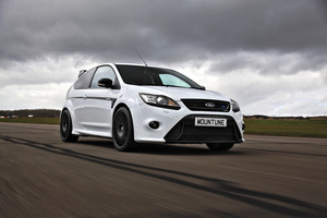 Buying hard-to-find vehicles - like Mountune's grumped-up Ford Focus RS - from the UK can be a massively time-consuming exercise. Photo / Supplied