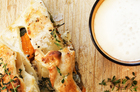 Autumn vegetable, blue cheese and thyme. Photo / Babiche Martens