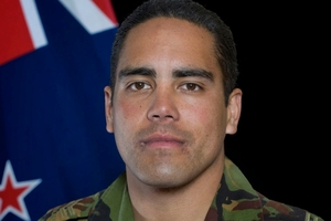 An investigation is underway into the death of Corporal Douglas Hughes. Photo / supplied