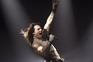 Tom Cruise plays rocker Jaxx in Rock of Ages. Photo / Supplied