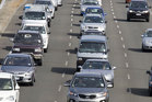 Motorists face traffic delays north of Auckland.