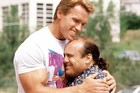 Arnold Schwarzenegger and Danny DeVito in the 1988 hit film Twins. Photo / Supplied