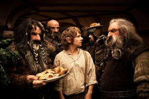 Martin Freeman plays Bilbo Baggins. New Zealand businesses are being urged to pull out all the stops including putting on hairy feet for a tourism bonanza. Photo / Supplied