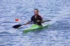 Jessica Blair is rated as one of the up-and-coming kayakers in NZ.