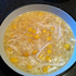 Another successfully cooked dinner by yours truly!! Chicken and corn soup... Photo / Twitter