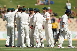 India complained about the pitches in Australia. Photo / Getty Images