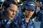 Taylor Kitsch and Rihanna star in Battleship. Photo / Supplied