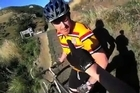A mountainbiker attacked on a downhill trail has posted a video of the incident, hoping it will help police to identify his alleged assailant. The apparently innocent victim was wearing a video camera on his helmet when he came across a slower rider on the popular Flying Nun trail on Christchurch's Port Hills.