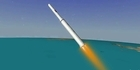Watch: North Korean rocket launch animation