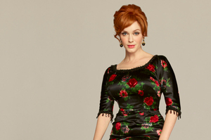 Joan Holloway in the television series Mad Men played by American Actress Christina Hendricks. Photo / Supplied