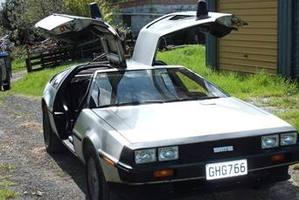 Fancy a Delorean? Photo / Supplied