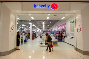 The sale of the babywear Babycity stores will help Postie Plus raise money for acquisitions. Photo / Richard Robinson