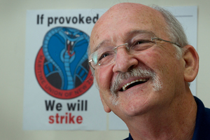 The Maritime Union is Garry Parsloe's emotional life and family. Photo / Brett Phibbs