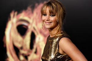'Screw PETA' said Jennifer Lawrence. Photo / AP