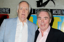 Lyricist Tim Rice, left, and composer Andrew Lloyd Webber. Photo / AP