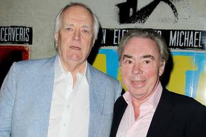 Lyricist Tim Rice, left, and composer Andrew Lloyd Webber. Photo / AP