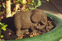 An endangered faeces artwork, made from Zoo Doo - manure from animals at Auckland Zoo. Photo / Supplied
