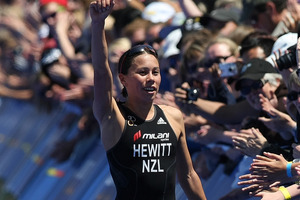 New Zealand Triathlete Andrea Hewitt. Photo / File