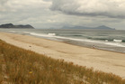 Te Arai beach near Mangawhai. Locals are up in arms as the beach is under threat from developers.  Photo / Janna Dixon