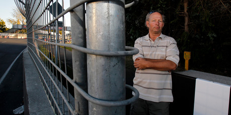 Hamilton resident Paul Smart has been encouraged by public support. Photo / Christine Cornege