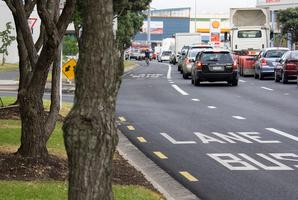 Bus lane's are often being misused. Photo / Paul Estcourt