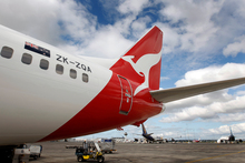 Qantas has a long-term plan to reduce its fuel bill. Photo / Sarah Ivey