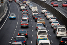 Auckland's Northern Gateway toll road has chalked up its first successful court prosecution. Photo / Sarah Ivey