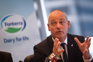 Fonterra CEO Theo Spierings. Photo / Richard Robinson