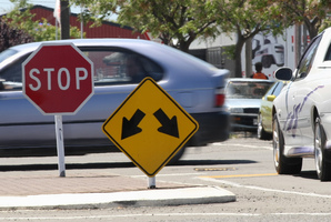Be careful at intersections. Photo / APN