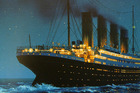 A painting of the Titanic by US artist Ken Marschalle. Photo / Northern Advocate
