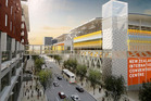 An artist's impression of SkyCity's proposed International Convention Centre to be built in the Auckland CBD. Photo / Supplied