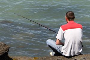 There are plenty of spots around Auckland to catch a fish. Photo / NZPA