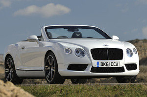 Bentley Continental GTC V8. Photo / Supplied
