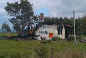 Real estate graffiti at its best ... snapped near Ngatea by Stewart Germann.