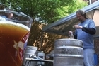 """Forget the corner shop. When these guys want to throw back a cold one, they make it at home. An estimated one million amateur beer lovers in the United States are developing a thirst for European-inspired micro-brews, bypassing the store-bought six-pack in favor of """"homemade"""" lagers."""