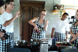 Chef Heinz von Holzen's cooking school Bumbu Bali. Photo / Zoe Walker