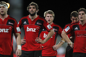 The Canterbury Crusaders. Photo / Getty Images.