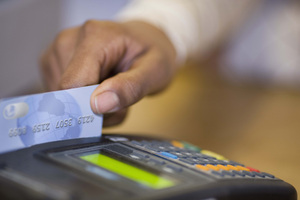 New Zealanders spent less on their credit and debit cards last month. Photo / File
