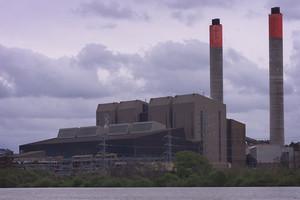 The Huntly Power Station. Photo / Greg Bowker
