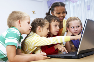Exploring the vast collection of useful, entertaining information online will keep the kids absorbed on a rainy school holiday. Photo / Thinkstock
