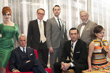 Mad Men returns for a highly anticipated season five. Photo / Supplied