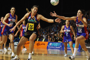 The Waikato Bay of Plenty Magic face the Northern Mystics tonight in Hamilton. Photo / Getty Images.