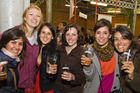 It's bottoms up at the Marchfest beer festival. Photo / David Letsche