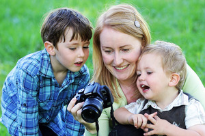 Digital photography has revolutionised the way we document our children's lives. Parents are able to capture beautiful moments without being limited to a 15-minute studio shoot. Photo / Doug Sherring