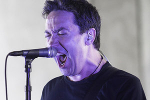 Jon Toogood was in fine form as Shihad's Meanest tour arrived in Auckland. Photo / Richard Robinson