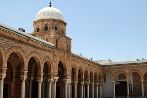 Tunis' Al-Zaytuna Mosque is the city's oldest monument. Photo / Creative Commons image by Wikimedia user Kassus