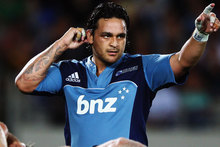 Piri Weepu has had a faltering start to his Blues season. Picture / Getty Images
